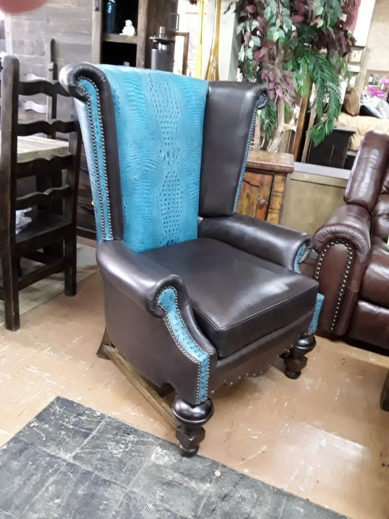 FD Leather Wind Chair