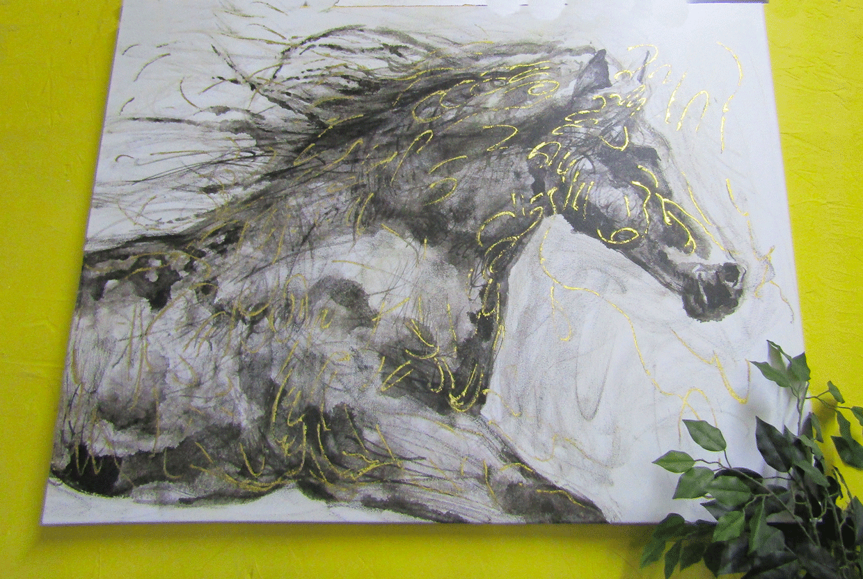 Horse Wall Art - one of a kind