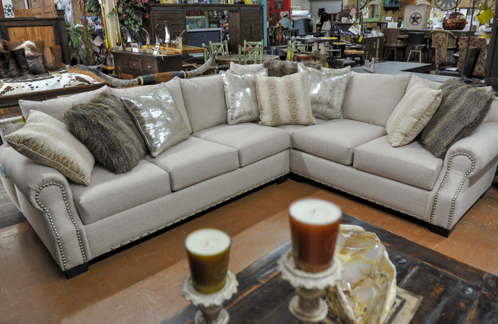 white-sectional